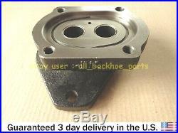 Jcb Backhoe Hydraulic Pump Flange Plate (parker Pump Spline Models Only)