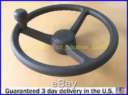 Jcb Backhoe- Wheel Steering Abi Splined Hub W. Spinner Knob (part No. 128/11789)