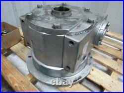 Jervis B Webb D 600RH 1501 Ratio Right Hand Spline Gear Input Gearbox With Shaft