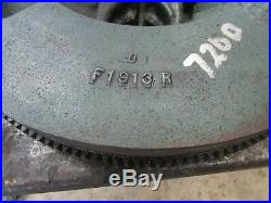 John Deere 720 Diesel Original Flywheel Good Spline F1913R Antique Tractor
