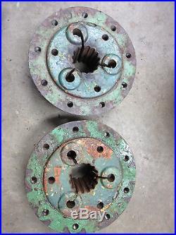 John Deere A3248R 15 spline A hubs set of two - Nine bolt hub