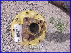 John Deere B tractor 12 spline 9 bolt rear axle hub hubs JD HARD TO FIND