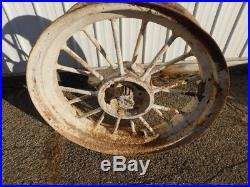 John Deere G Tractor 12 Spline Round Spoke Rims 00698
