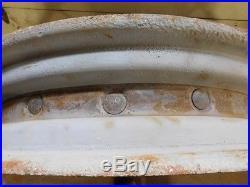 John Deere Late Unstyled/early Styled A Tractor 12 Spline Rear Rims Hc391d 00572