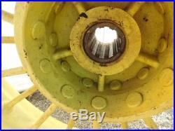 John Deere Unstyled A Tractor 10 Spline Round Spoke Rear Rims Hc125b 00651