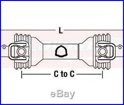 KUHN Disc Mower PTO Driveline GMD400 GMD44 GMD500 GMD55 With 1 3/8 6 Spline Yokes