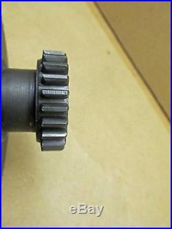 LeBlond Regal Lathe Sliding Double Gear F/ Feed Shaft 64T/24T 6 Spline D6225