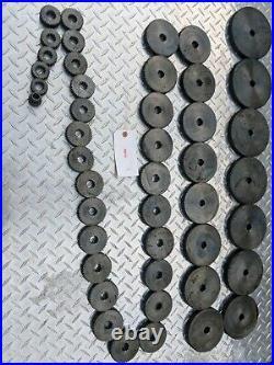 Lot of 45 Barber Coleman, 25-15, Spline Shaft Change Gears List in Pictures