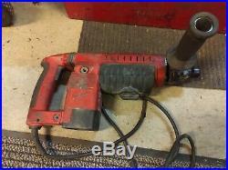 MILWAUKEE Spline Rotary Hammer Drill Cat. 5345-21 1-3/4 With Case