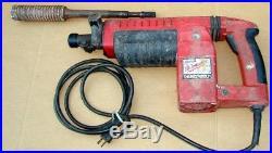 MILWAUKEE THUNDERBOLT ROTARY SPLINED HAMMER DRILL w 1 3/4 HOLE BIT Model 5311