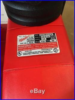 MILWAUKEE THUNDERBOLT SPLINE ROTARY HAMMER DRILL CAT. 5311 1-1/2 WithCASE