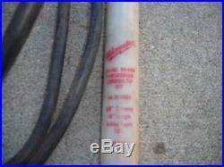 MILWAUKEE THUNDERBOLT SPLINE ROTARY HAMMER DRILL CAT. 5311 1-1/2 WithCASE & BIT