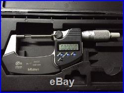 MITUTOYO 331-361 Digital Micrometer, spline micrometer, 0 to 1 In coolant proof