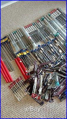 Makita over 430+ rotary, spline, shank hammer bits