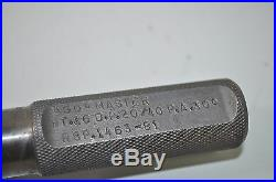 Master GO 36 Tooth Spline Gage D. P. 20/40 P. A. 30 Degrees RSP 1463-81