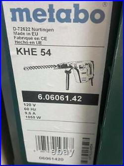 Metabo KHE 54 1-9/16 Spline Rotary Drill