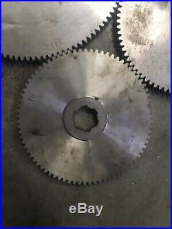 Metal Lathe Change Gear Set 12DP 6 Spline 69 78 81 114 T Machinist Tool Box Find