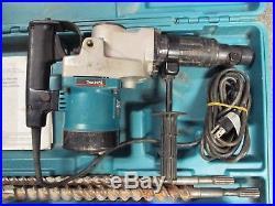 Mikita Rotary Hammer Drill Model HR 3851, Spline Drive