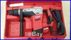 Milwaukee 1-9/16in. SDS-MAX Spline Rotary Hammer + Case + 2 Drill Bits NEW