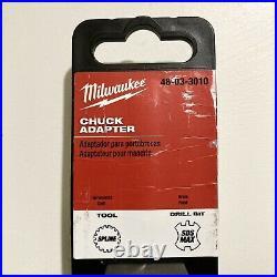 Milwaukee 48-03-3010 SPLINE to SDS-MAX Chuck Adapter Brand New