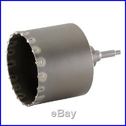 Milwaukee 48-20-5065 SDS-MAX and SPLINE Thin Wall Carbide Tipped Core Bit 6