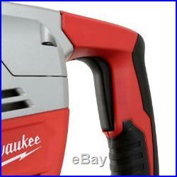 Milwaukee Rotary Hammer Drill 10.5-Amp Corded Spline Chuck Handle Variable Speed