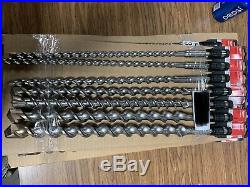 Milwaukee Spline Bits Drill Lot Variable Sizes