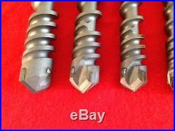 Milwaukee spline shank rotary drill bits