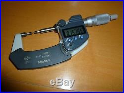 Mitutoyo 0-1 Digital Spline Mic. 00005 Resolution #331-351