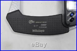 Mitutoyo 331-351-30 Spline Micrometer, 0-1/0-25.4mm Range. 00005/0.001mm