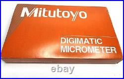 Mitutoyo 331-363-30 Digital Spline Micrometer, IP65, 5mm Spline, 2-3 NEW
