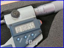 Mitutoyo 331-711-30 0 1 / 0 -25mm Digital Spline Micrometer 3mm Measuring Face
