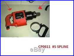NEW CP0611-PASEL Chicago Pneumatic AIR IMPACT 3,500 RPM Impact Wrench Spline #5