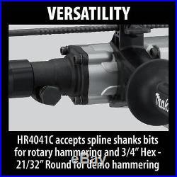 NEW MAKITA 12 Amp 1-9/16 in. Spline Rotary Hammer HR4041C