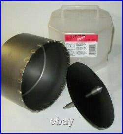 NEW Milwaukee 48-20-5065 Thin Wall Carbide Tip Core Bit 6 in. For SDS MAX/Spline