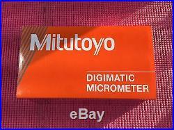 NEW Mitutoyo Spline Micrometer 0-1 Model 331-361-30 (machinist Tools)