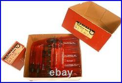 N-O-S Bristol Handled Hex Spline Screwdriver Keys & Socket Screw L-Keys, 130 pc