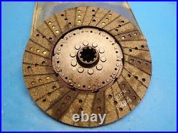 New 1947-71 Clark, Towmotor, Harnisch Feger Clutch Disc 12 X 1-1/2 X 10 Spline