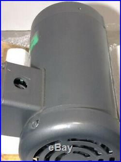 New Baldor 1/3HP, 1725RPM, 3PH, 60HZ, 42CZ, 3320M, TEFC, F 13 Spline Motor