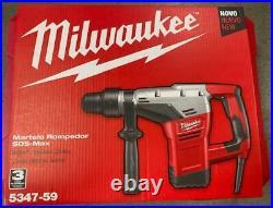 New Milwaukee 5347 Spline Bit 1-1/2 Rotary Hammer Drill & Chipping Hammer