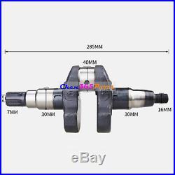New Spline Crankshaft For Yanmar L100 Chinese 186 F Diesel 10 HP Engine