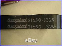 New Spline Gear Spindle Pulley Hub & belt for 1 1/2 HP Speed Bridgeport MIll