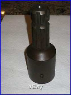 PTO Adapter 1 3/8 1000 RPM Female 21 Spline to 1 3/8 540 RPM Male 6 Spline