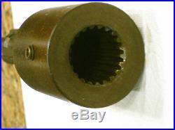 PTO Adapter 1 3/8 1000 RPM Female 21 Spline to 1 3/8 540 RPM