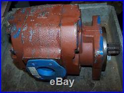 Parker Hydraulic Rotary Vane Gear Pump 1-1/4 Ports 1-1/4 Splined Shaft