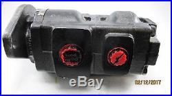Parker Tandem Hydraulic Pump 7020120037 332-135609 Spline Shaft NEW