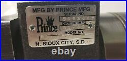 Prince Gerotor Motor, 24.4 Cu. In, #10 SAE Ports, 4 Bolt Flange, 1 Splined Shaft