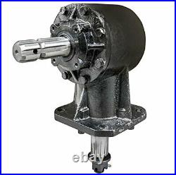 RC-30 40HP Rotary Cutter Gearbox 1-3/8, 6 Spline 11.47 Ratio 12 Spline Output