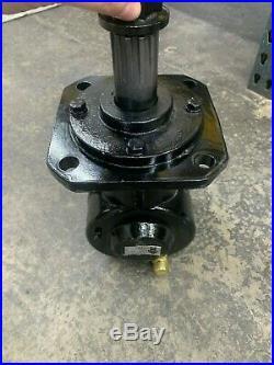 Round Style Gearbox 40hp 1147 4 Pattern Input 6 Spline Output 12 Spline