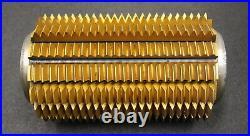 SAAZOR Stollenwälzfräser involute spline hob m= 2,5mm 25° EGW Ø120x210xØ40mm